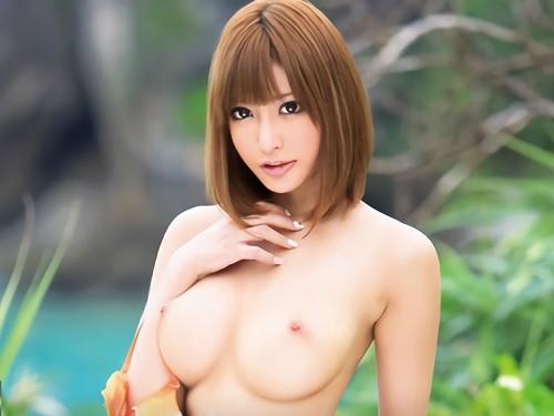 [明日花キララ]「チンポ犯してあげる♡」スレンダー巨乳おっぱいの完璧な身体!ノーハンドフェラ・乳首コキでチンポ凌辱!