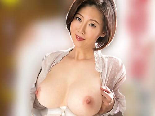 《四十路・人妻熟女》「おばさんSEXしたいの♡」スレンダー巨乳おっぱいムチムチボディの熟女が不倫チンポでアクメする!