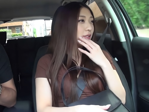 【Gカップ巨乳OL】長い髪がセクシーなお姉さんに膣内射精!『中はダメよ?♥♥』おっぱい綺麗なギャルとハメ撮りセックス!
