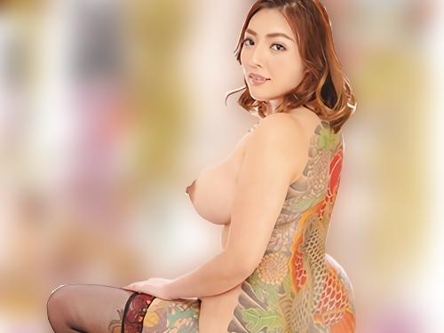 《刺青おばさんソープ嬢》「奥まで突いてくださる?♥」場末の風俗に勤務するぽっちゃりムチムチ巨乳おっぱいの熟女とSEX!!