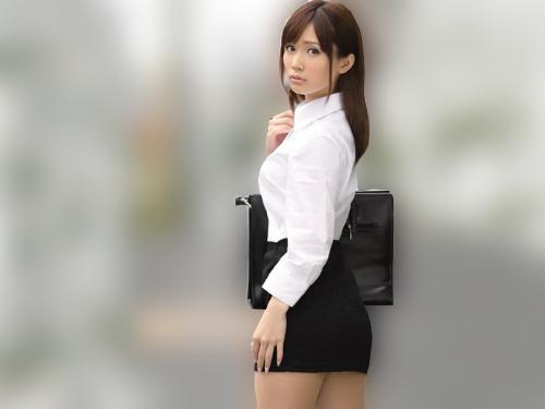 《OL調教レ●プ》「やだっ!やだよぉぉ!」スレンダー巨乳おっぱいの美人OLが後輩を守るために取引先で辱められてしまう