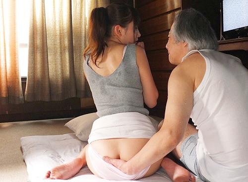 《人妻熟女NTR》「いっぱい抱いて下さい・・♥」義父と2人で一夜を過ごしたスレンダー巨乳おっぱいおばさんが寝取られSEX