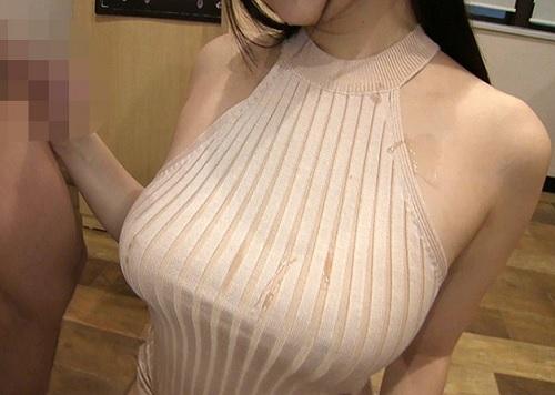 《着衣痴女》「思い切りかけなさい♥」マキシワンピのムチムチ巨乳おっぱいお姉さんのチンポ責め激エロ《ましろ杏・片瀬仁美》