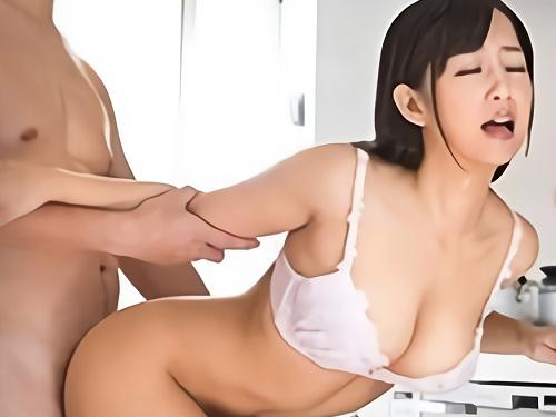 《嫁の母》「いいわっ♥精子欲しいのっ♥」スレンダー巨乳おっぱい人妻熟女おばさんが妊活のために溜めたザーメンを奪うw