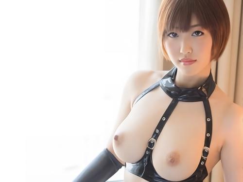 《Gカップのボンテージ美女》「うふふ♥オナニー見て・・・♥」スレンダー巨乳おっぱいの超キレイな体の美人お姉さんとセックス