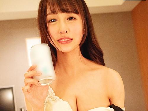 《お泊り交尾》「飲もっ♥♥」スレンダー・ガリ巨乳おっぱい可愛いお姉さんと飲んで濃厚イチャイチャラブラブが抜けるエロ動画