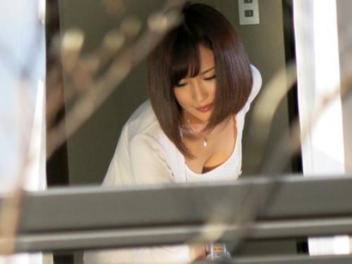 【ストーカーx辱め】「やだっ!やだってばぁぁ!」隣の美人でスレンダー巨乳おっぱいな若妻をのぞき見し、無理やり種付けされる